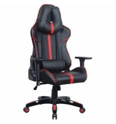 Кресло BRABIX GT Carbon GM-120 игровое, две подушки, экокожа, черное/красное