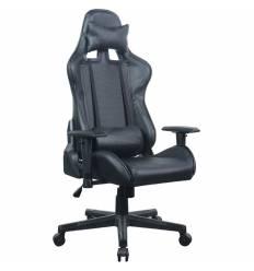 Кресло BRABIX GT Carbon GM-115 игровое, две подушки, экокожа, черное