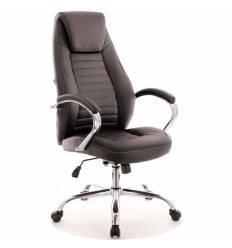 Кресло EVERPROF Era TM PU Black для руководителя, экокожа, цвет черный