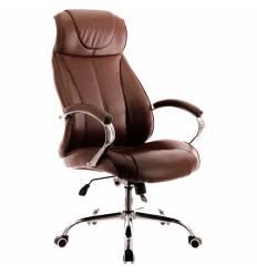 Кресло EVERPROF Forum TM PU Brown для руководителя, экокожа, цвет коричневый