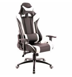 Кресло EVERPROF Lotus S6 PU White игровое, экокожа, цвет белый/черный
