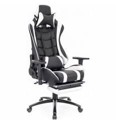 Кресло EVERPROF Lotus S1 PU White игровое, экокожа, цвет белый/черный