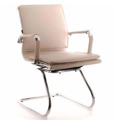 Кресло EVERPROF NEREY CF PU Beige для посетителя, экокожа, цвет бежевый
