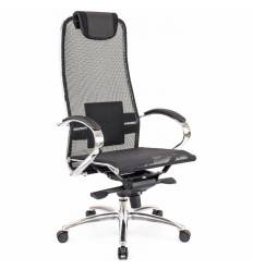 Кресло EVERPROF Deco Mesh Black для руководителя, сетка, цвет черный