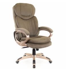 Кресло EVERPROF Boss T Brown для руководителя, ткань, цвет коричневый