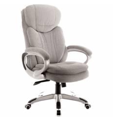 Кресло EVERPROF Boss T Grey для руководителя, ткань, цвет серый