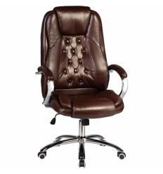 Кресло LMR-116B/brown для руководителя, экокожа, цвет коричневый