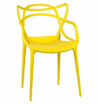 Стул LMZL-PP 601 Master желтый, пластиковый