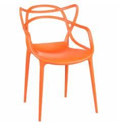 Стул LMZL-PP 601 Master оранжевый, пластиковый