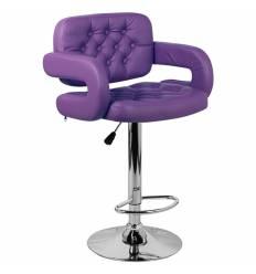 Стул барный Тиесто WX-2927 фиолетовый, экокожа