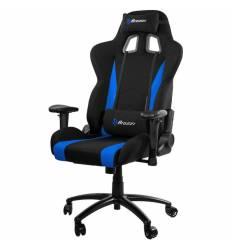 Кресло Arozzi Inizio Fabric-Blue, компьютерное (для геймеров), ткань, цвет черный/синий