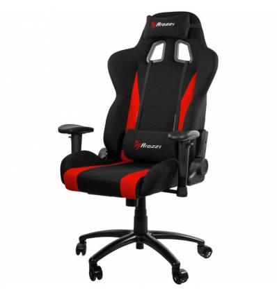 Кресло Arozzi Inizio Fabric-Red, компьютерное (для геймеров), ткань, цвет черный/красный
