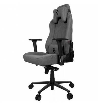 Кресло Arozzi Vernazza Soft Fabric - Ash, компьютерное (для геймеров), ткань, цвет пепельный