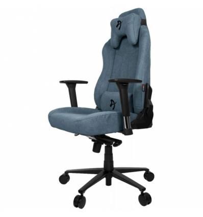 Кресло Arozzi Vernazza Soft Fabric - Blue, компьютерное (для геймеров), ткань, цвет синий