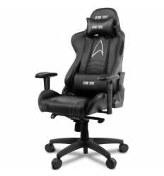 Кресло Arozzi Gaming Chair - Star Trek Edition - Black, компьютерное (для геймеров), экокожа, цвет черный