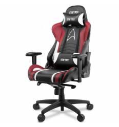 Кресло Arozzi Gaming Chair - Star Trek Edition - Red, компьютерное (для геймеров), экокожа, цвет черный/красный/белый