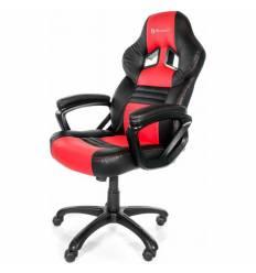 Кресло Arozzi Monza - Red, компьютерное (для геймеров), экокожа, цвет черный/красный