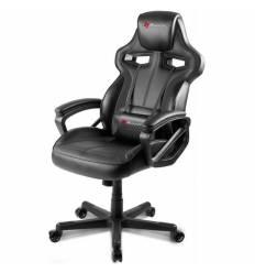 Кресло Arozzi Milano - Black, компьютерное (для геймеров), экокожа, цвет черный