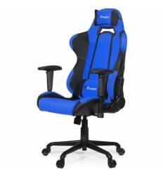Кресло Arozzi Torretta Blue V2, компьютерное (для геймеров), ткань, цвет синий/черный