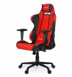 Кресло Arozzi Torretta Red V2, компьютерное (для геймеров), ткань, цвет красный/черный