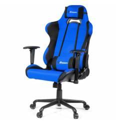 Кресло Arozzi Torretta XL - Fabric Blue, компьютерное (для геймеров), ткань, цвет синий/черный