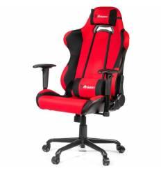 Кресло Arozzi Torretta XL - Fabric Red, компьютерное (для геймеров), ткань, цвет красный/черный