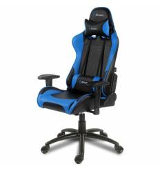 Кресло Arozzi Verona - Blue, компьютерное (для геймеров), экокожа, цвет черный/синий