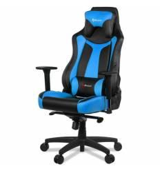 Кресло Arozzi Vernazza Blue, компьютерное (для геймеров), экокожа, цвет черный/синий