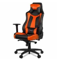 Кресло Arozzi Vernazza Orange, компьютерное (для геймеров), экокожа, цвет черный/оранжевый