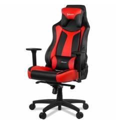 Кресло Arozzi Vernazza Red, компьютерное (для геймеров), экокожа, цвет черный/красный