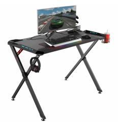 Стол Eureka X1 S для компьютера (для геймеров), чёрный