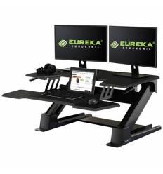 Подставка Eureka CV-PRO36B на компьютерный стол для работы стоя, чёрный