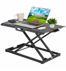 Подставка Eureka ERK-PCV-US на компьютерный стол для работы стоя, чёрный