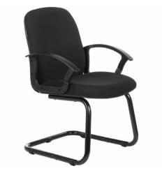 Кресло Бюрократ CH-808-LOW-V/B для посетителя, цвет черный