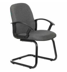 Кресло Бюрократ CH-808-LOW-V/G для посетителя, цвет серый