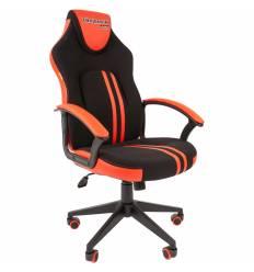 Кресло CHAIRMAN GAME 26 Red геймерское, экокожа/ткань, цвет черный/красный