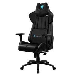 Кресло ThunderX3 BC7 Black для геймеров, экокожа, цвет черный