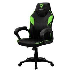Кресло ThunderX3 EC1 Air Black-Green для геймеров, экокожа, цвет черный/зеленый