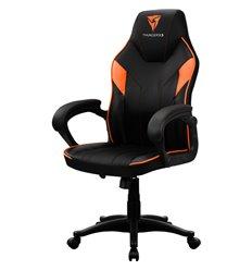 Кресло ThunderX3 EC1 Air Black-Orange для геймеров, экокожа, цвет черный/оранжевый