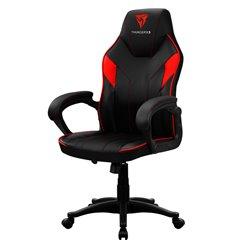 Кресло ThunderX3 EC1 Air Black-Red для геймеров, экокожа, цвет черный/красный