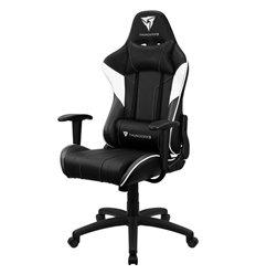 Кресло ThunderX3 EC3 Black-White Air для геймеров, экокожа, цвет черный/белый