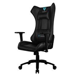 Кресло ThunderX3 UC5 Black AIR HEX для геймеров, экокожа, цвет черный, с модулем RGB подсветки