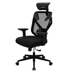 Кресло ThunderX3 YAMA3 Black для геймеров, сетка/экокожа, цвет черный