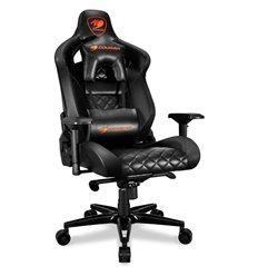 Кресло COUGAR ARMOR Titan Black компьютерное игровое, экокожа, цвет черный