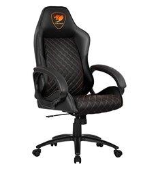Кресло COUGAR ARMOR Fusion Black компьютерное игровое, экокожа, цвет черный