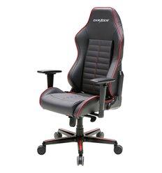 Кресло DXRacer OH/DJ188/NR Drifting Series, компьютерное, кожа, цвет черный/красный