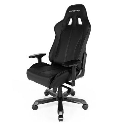 Кресло DXRacer OH/KS57/N King Series, компьютерное, экокожа, цвет черный