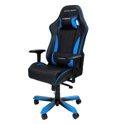 Кресло DXRacer OH/KS57/NB King Series, компьютерное, экокожа, цвет черный/синий