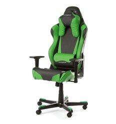 Кресло DXRacer OH/RB1/NE Racing Series, компьютерное, цвет черный/зеленый