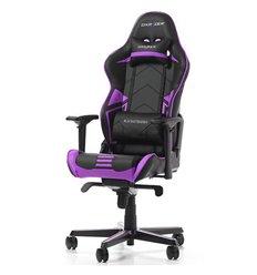 Кресло DXRacer OH/RV131/NV Racing Series, компьютерное, цвет черный/фиолетовый